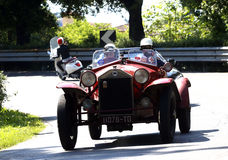 Mille Miglia, Italië Royalty-vrije Stock Afbeeldingen