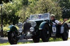 Mille Miglia, Italië Stock Fotografie