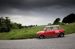 Mille miglia 2015 MINI MINOR Royalty Free Stock Photography