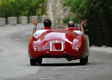Mille Miglia race (*) Stock Photography