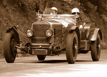 Mille Miglia race (*) Royalty Free Stock Images