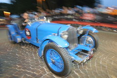 MILLE MIGLIA RACE 2008. Mille miglia italia, contest of regularity of historical cars Royalty Free Stock Photos