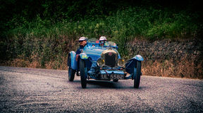 Mille miglia 2015 RALLY ABC 1100 1929 Royalty Free Stock Images