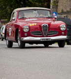 Mille miglia 2014 starych samochodowych alfa Romeo Zdjęcia Stock