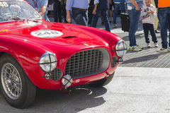 Mille milles de course Image stock