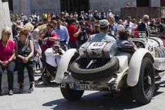 Mille milles de course Image libre de droits