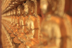Mille moines de Bouddha Photo libre de droits