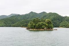 Mille paesaggi del lago island Immagine Stock