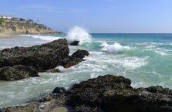 Mille spiagge di punti Fotografia Stock