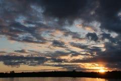 Mille tramonti delle isole Immagini Stock