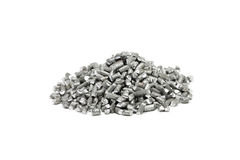 Milled aluminum wire Stock Photography