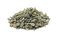 Milled crushed stone Royalty Free Stock Photos