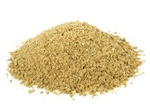 Milled Fennel Seeds - Healthy Nutrition stock photo