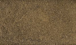Milled or ground black pepper background. Natural seasoning texture. Natural spices and food ingredients.  stock image