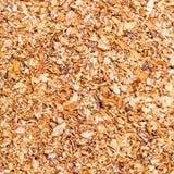 Milled natural grass bran close up Stock Images