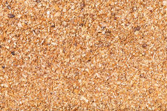 Milled natural grass bran Stock Photography