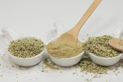 Milled oregano Stock Image