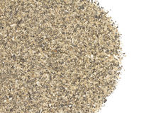 Milled sunflower pellets Stock Photography