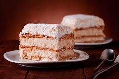 Millefeuille Cakes Stock Photography