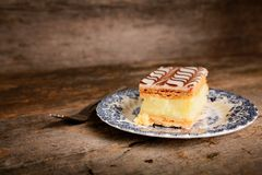 Millefeuille Royalty Free Stock Photography