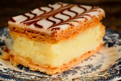 Millefeuille Royalty Free Stock Images