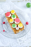 Millefeuille, french pastry Stock Photography