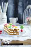 Millefeuille, french pastry Stock Image