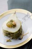 Millefeuilles del azul-queso Imagen de archivo libre de regalías