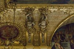 Millefoglie III degli appartamenti al Louvre Fotografia Stock Libera da Diritti