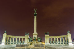 Millenary Monument in Budapest Royalty Free Stock Photography