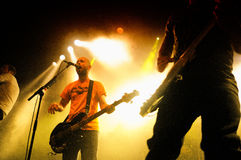 Millencolin band performs at Apolo Royalty Free Stock Image