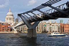 Millenium Bridge Royalty Free Stock Photography