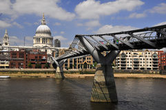 Millenium Bridge Stock Image