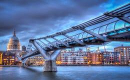 Millenium Bridge Royalty Free Stock Images