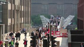 The millenium Bridge Royalty Free Stock Images