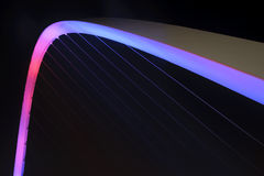Millenium Bridge Detail Royalty Free Stock Photo