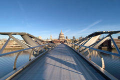 Millenium Bridge London Royalty Free Stock Image