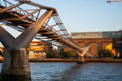 Millenium bridge Royalty Free Stock Images