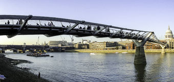 Millenium Bridge -  London Royalty Free Stock Photography