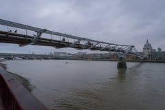 The Millenium Bridge London Stock Images