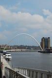 Millenium bridge Newcastle Royalty Free Stock Photography