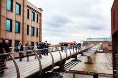 Millenium bridge. Stock Photos