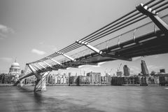 Millenium Bridge Stock Photos