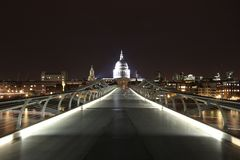 Millenium bridge Royalty Free Stock Photo
