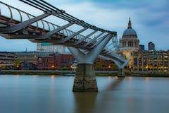 Millenium Bridge royalty free stock image