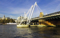 The Millenium bridge, United Kingdom, London. royalty free stock image