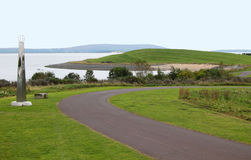 Millenium coastal path Royalty Free Stock Photography