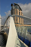 Millenium Footbridge Salford Royalty Free Stock Photography