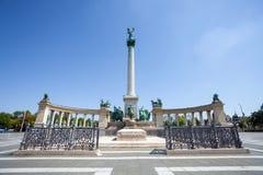 Millenium monument in Budapest Stock Image