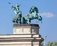 Millenium Monument Budapest Hungary Royalty Free Stock Photography